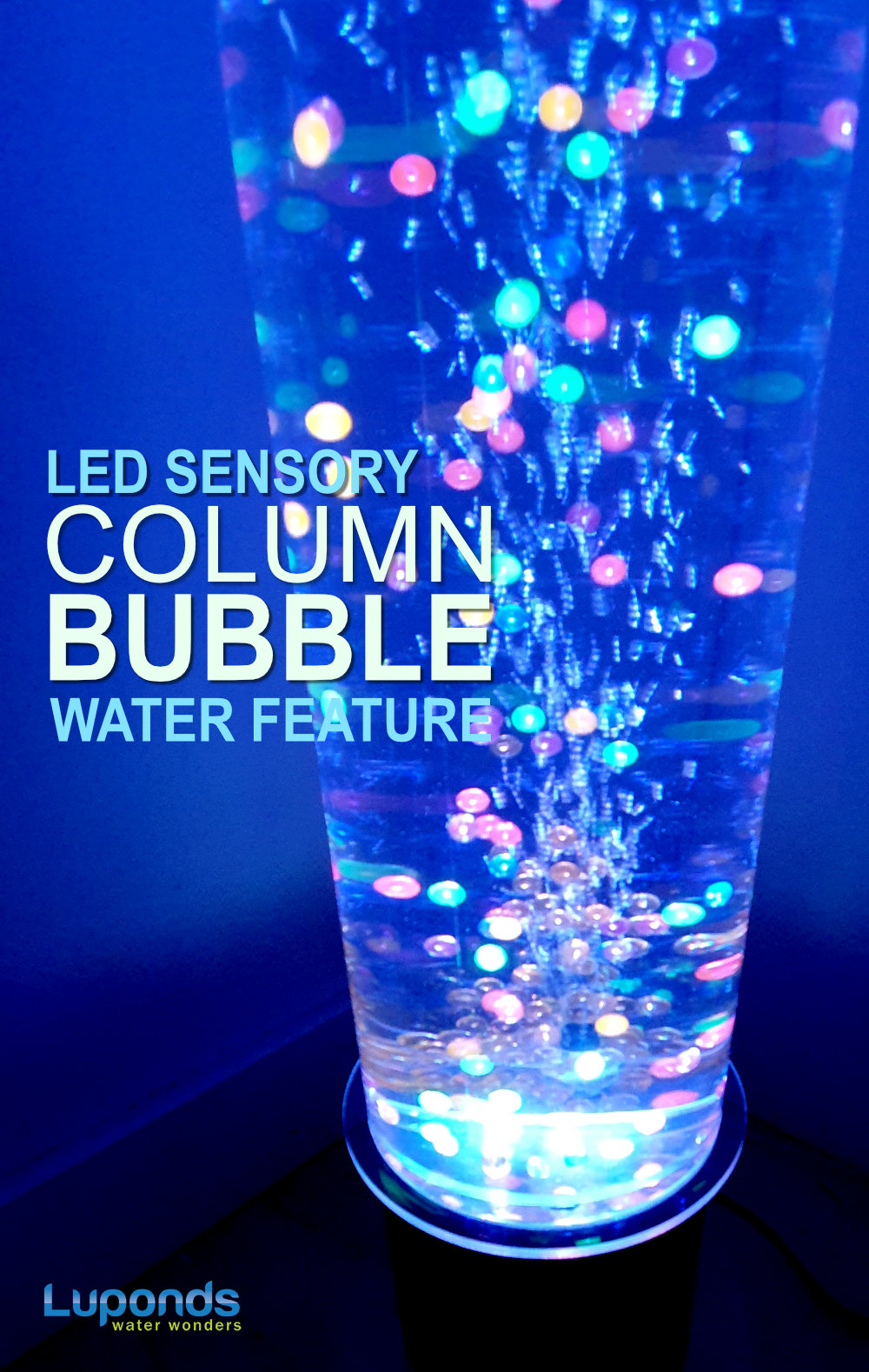 SENSORY BUBBLE WATER FEATURES